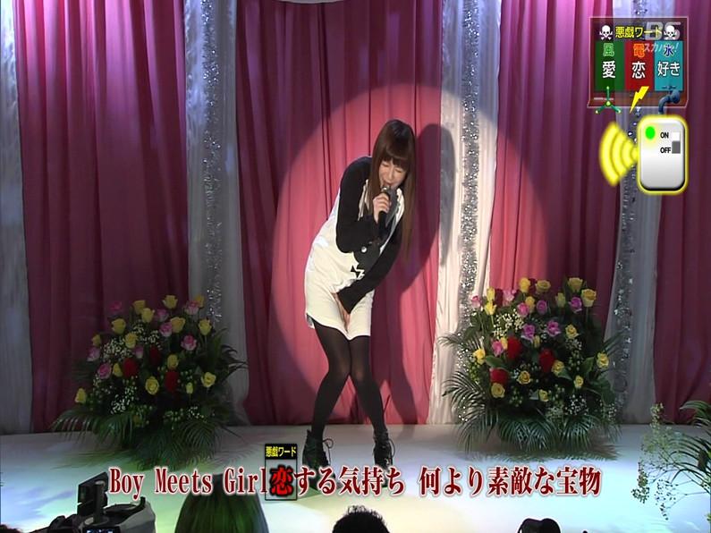 【お宝エロ画像】セクシー女優歌合戦とか言う番組で女優達が歌ってる最中に股間に電気流されて悶絶しとったww 05