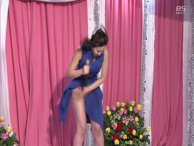 【お宝エロ画像】セクシー女優歌合戦とか言う番組で女優達が歌ってる最中に股間に電気流されて悶絶しとったww 42