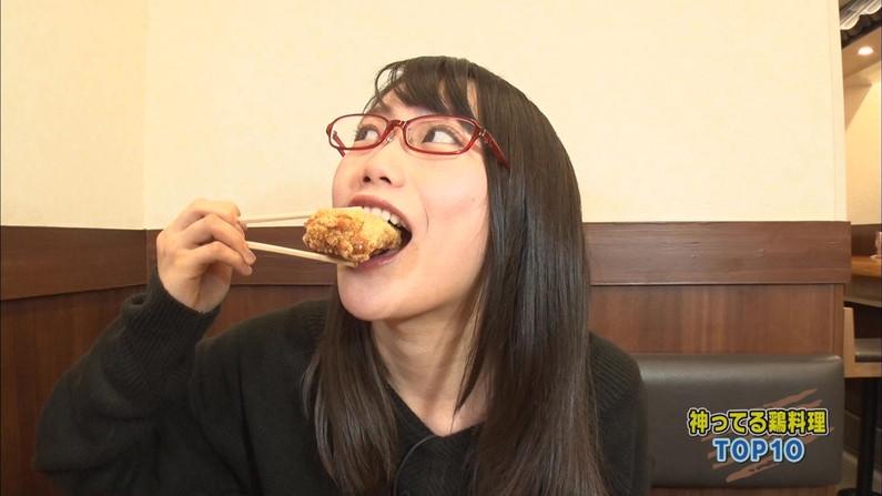 【擬似フェラキャプ画像】食レポの時に現れるタレント達のフェラ顔がエロくてたまらんww 08