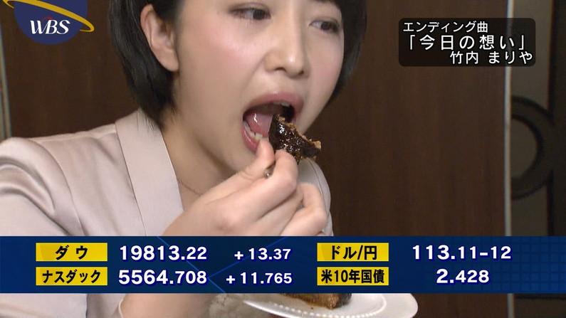 【擬似フェラキャプ画像】食レポ時の顔がエロすぎるタレント達のフェラ顔をご覧あれw 16