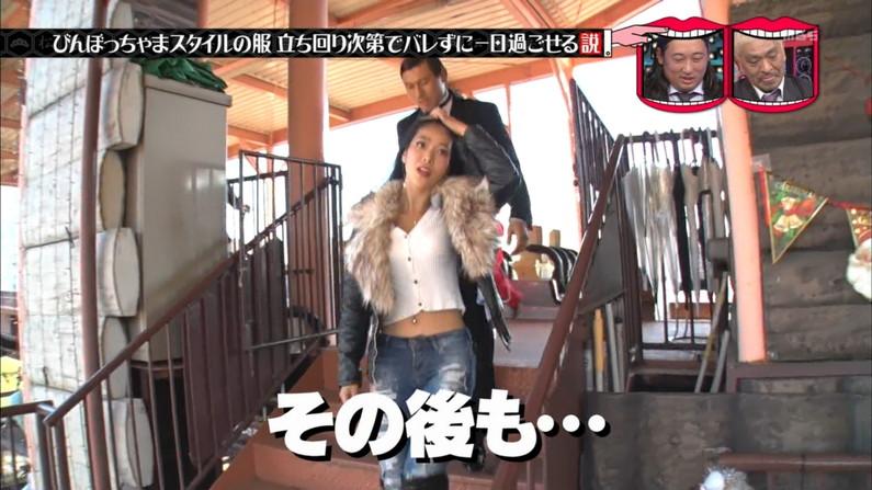 【へそチラキャプ画像】テレビでへそチラしてる美女達のセクシーなくびれボディーw 23