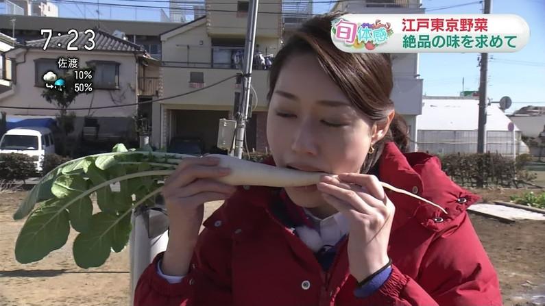【擬似フェラキャプ画像】女子アナ達の食レポってやっぱりエロく見えないか?w 16