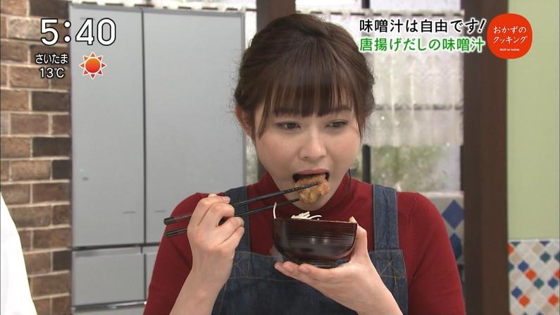 【擬似フェラキャプ画像】女子アナ達の食レポってやっぱりエロく見えないか?w 18