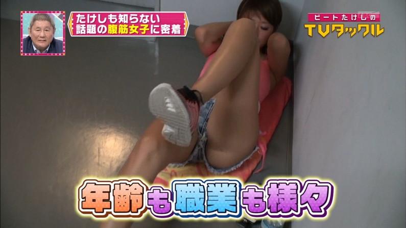 【ハミマン放送事故画像】美女達がカメラの前でお股クパーするもんだから股間がえらいことなってるやないかw 04