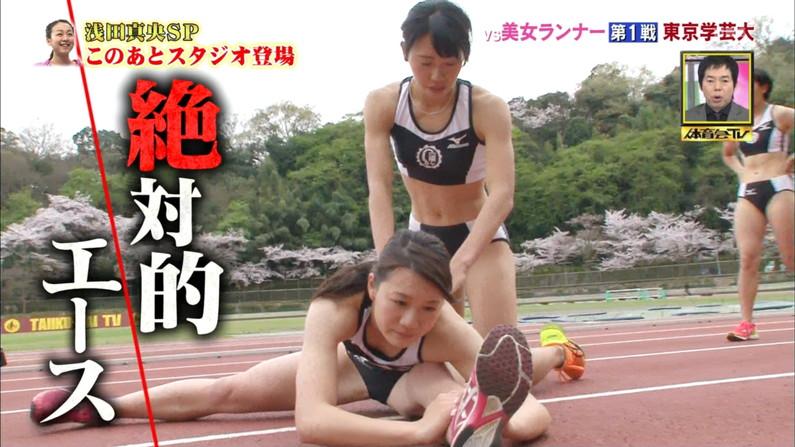 【ハミマン放送事故画像】美女達がカメラの前でお股クパーするもんだから股間がえらいことなってるやないかw 05