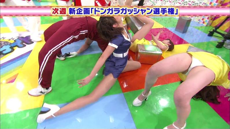 【ハミマン放送事故画像】美女達がカメラの前でお股クパーするもんだから股間がえらいことなってるやないかw 08