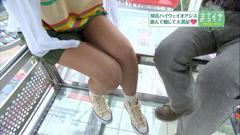 【太ももキャプ画像】タレントさん達の美脚太もも見てたらムラムラが収まらんw