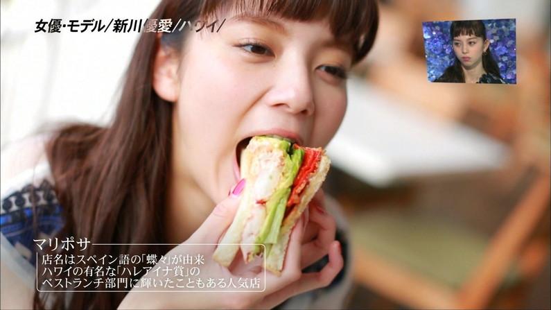 【擬似フェラキャプ画像】食レポの時にどうしてもエッチな顔になっちゃう女子アナ達w 14