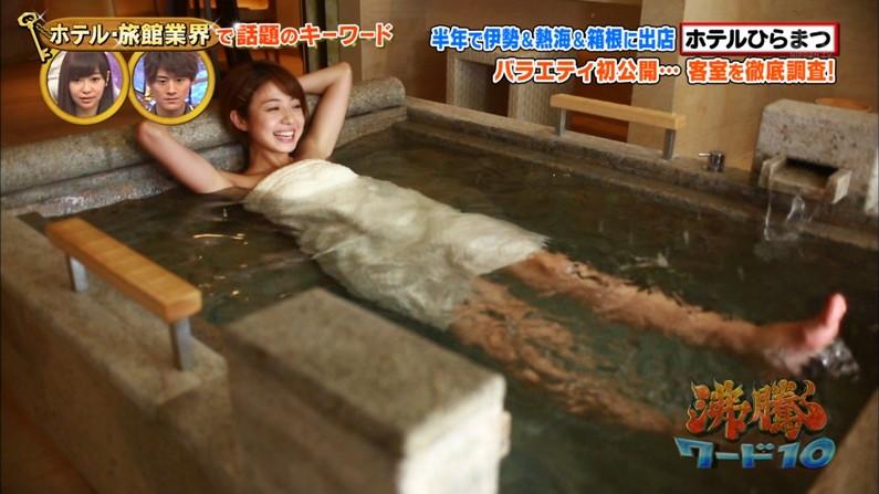 【温泉キャプ画像】こんなオッパイ見ながら温泉に浸かれたら天国にいる気分だろうなw 21