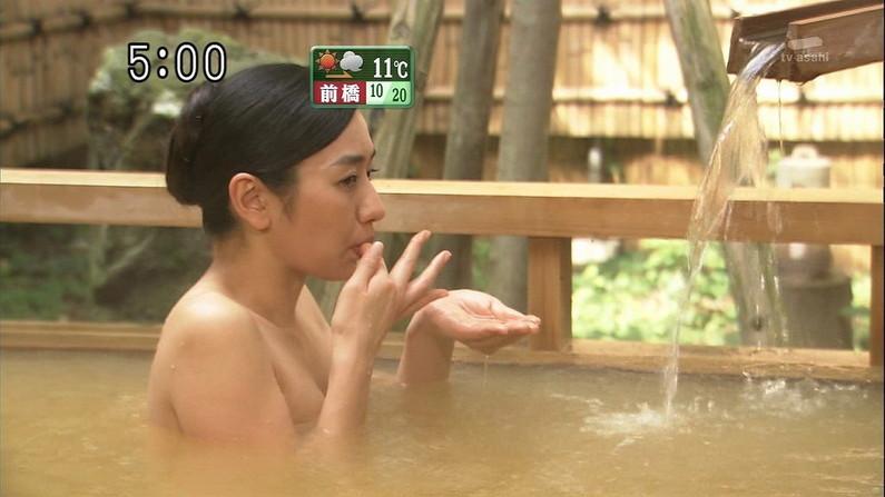 【温泉キャプ画像】いつ見ても美女の入浴してる姿ってエロいよなw 07