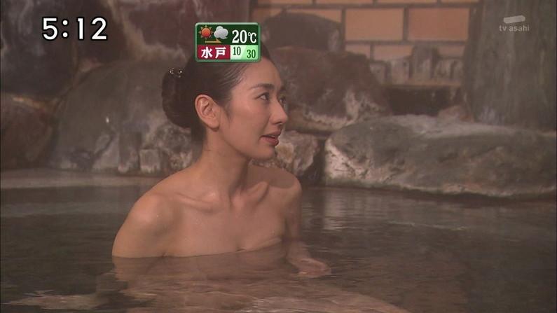 【温泉キャプ画像】いつ見ても美女の入浴してる姿ってエロいよなw 09