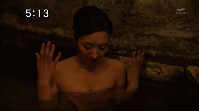 【温泉キャプ画像】いつ見ても美女の入浴してる姿ってエロいよなw 11