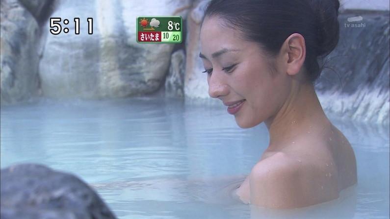 【温泉キャプ画像】いつ見ても美女の入浴してる姿ってエロいよなw 13