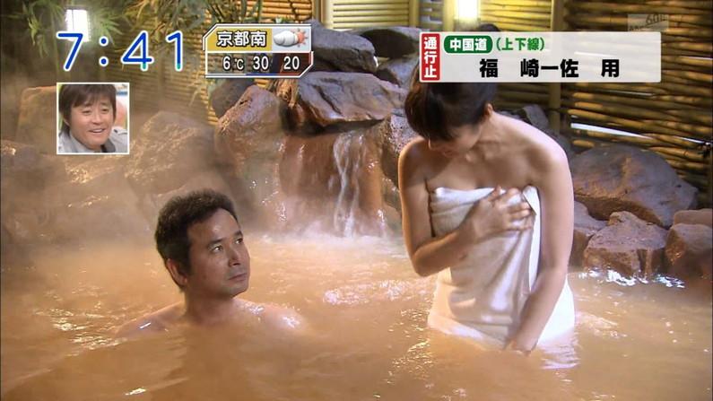 【温泉キャプ画像】いつ見ても美女の入浴してる姿ってエロいよなw 19