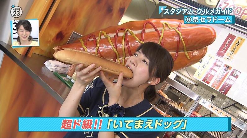 【擬似フェラキャプ画像】思わずその口の中に射精したくなるタレント達の食レポw 16