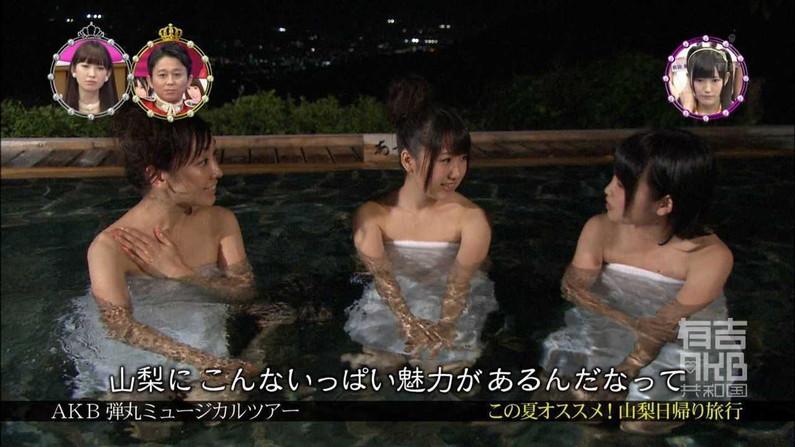 【温泉キャプ画像】やっぱり女性リポーターの谷間が絶対気になっちゃう温泉レポw 16