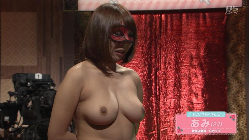 【乳首キャプ画像】テレビなのに乳首までさらけ出した女達ww 04