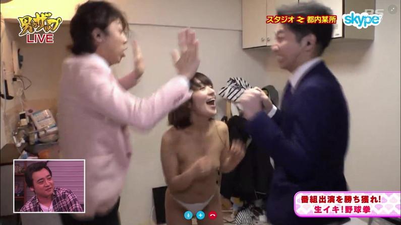 【乳首キャプ画像】テレビなのに乳首までさらけ出した女達ww 13