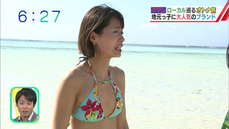 【水着キャプ画像】テレビで水着美女達がオッパイ揺らしてはしゃいでるww 07
