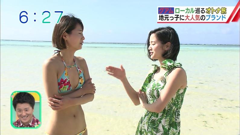 【水着キャプ画像】テレビで水着美女達がオッパイ揺らしてはしゃいでるww 08