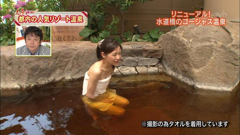 【温泉キャプ画像】温泉レポしてるタレントってなんでこんなにエロく見えるんだろうな?w 05