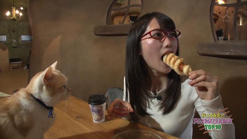 【疑似フェラキャプ画像】食レポなのに卑猥な食べ方してエロスを匂わすタレント達w 12