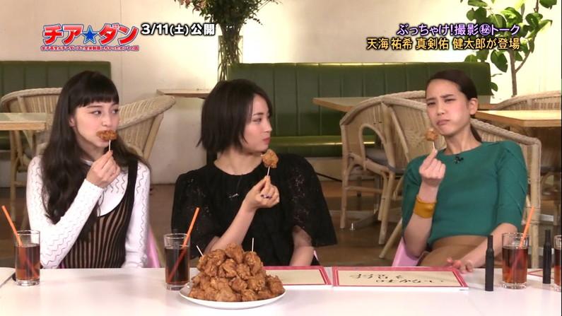 【疑似フェラキャプ画像】食レポなのに卑猥な食べ方してエロスを匂わすタレント達w 17