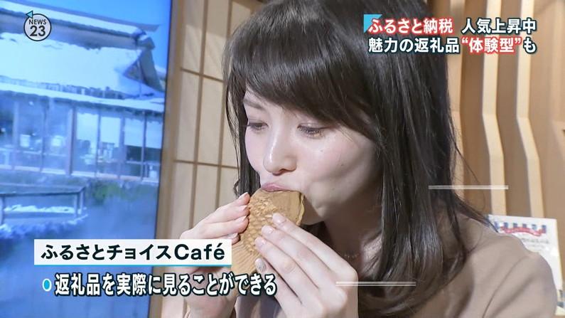 【疑似フェラキャプ画像】食レポなのに卑猥な食べ方してエロスを匂わすタレント達w 20