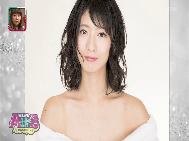 【お宝エロ画像】日本橋のメイド喫茶で働いてる可愛い女の子がテレビでヌードモデルやっちゃった結果w 11