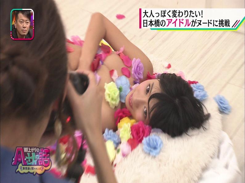 【お宝エロ画像】日本橋のメイド喫茶で働いてる可愛い女の子がテレビでヌードモデルやっちゃった結果w 22