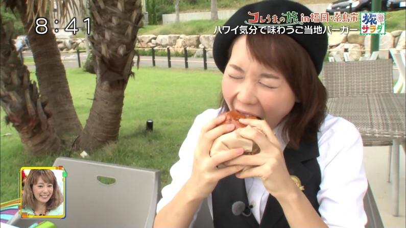 【疑似フェラキャプ画像】食レポで見せるタレント達の卑猥なエロ顔www 09