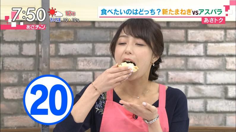 【疑似フェラキャプ画像】食レポで見せるタレント達の卑猥なエロ顔www 10