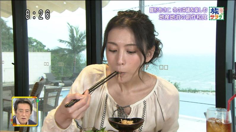 【疑似フェラキャプ画像】食レポで見せるタレント達の卑猥なエロ顔www 11
