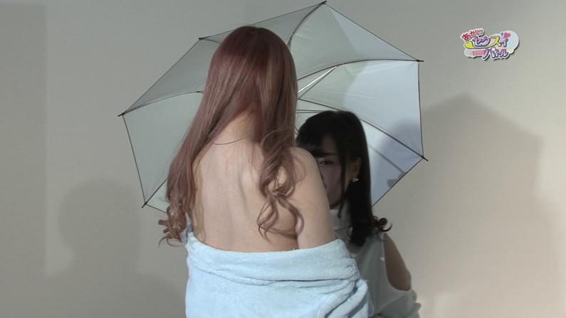 【お宝キャプ画像】Tバック美女がお尻突き出してカメラさんもどう撮ったらいいか困らせるようなポーズ取ってたw 27