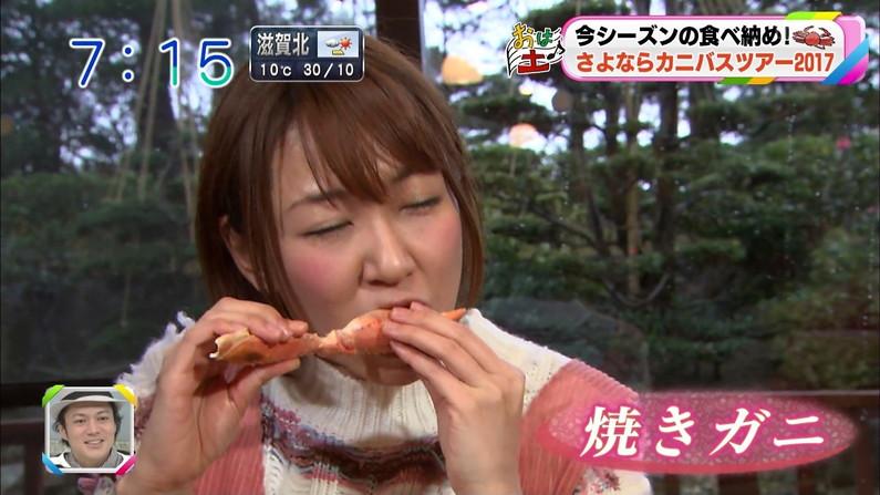 【疑似フェラキャプ画像】食レポしてるだけなのに擬似フェラに見えちゃうタレント達w 06