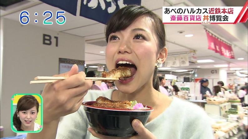 【疑似フェラキャプ画像】食レポしてるだけなのに擬似フェラに見えちゃうタレント達w 15