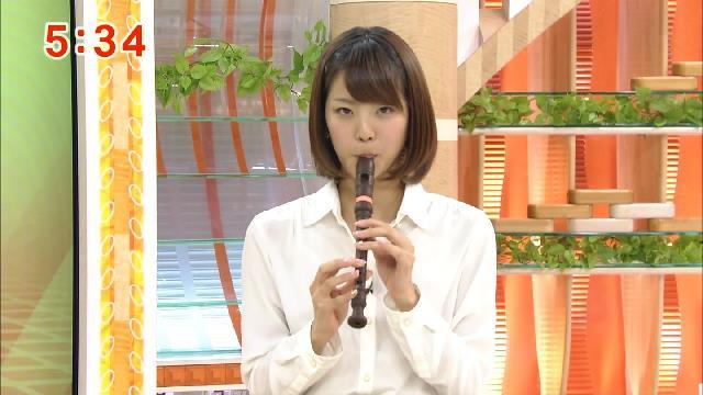 【疑似フェラキャプ画像】今日も女子アナ達はエロい顔しながら食レポ頑張ってますww 10