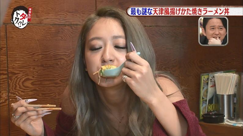 【疑似フェラキャプ画像】今日も女子アナ達はエロい顔しながら食レポ頑張ってますww 13