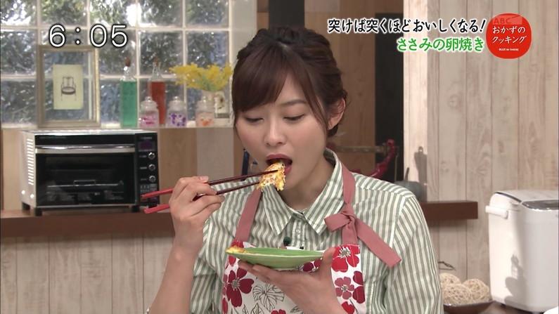 【疑似フェラキャプ画像】今日も女子アナ達はエロい顔しながら食レポ頑張ってますww 14