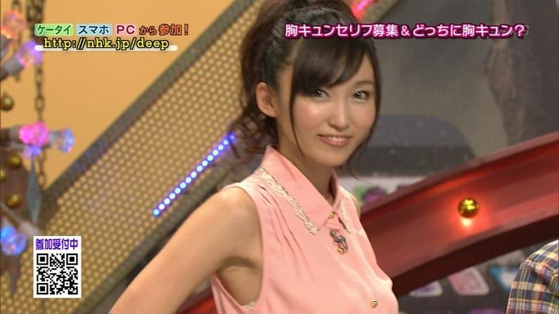 【脇キャプ画像】テレビに映る美女の脇なら美味しく舐めれるだろ?ww 11