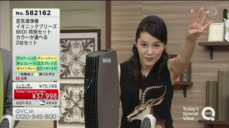 【脇キャプ画像】テレビに映る美女の脇なら美味しく舐めれるだろ?ww 21