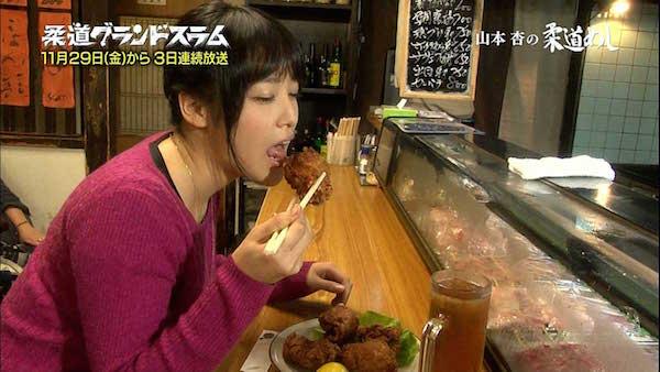 【疑似フェラキャプ画像】タレント達が食レポしてる時の顔がエロすぎて思わずチ〇コいじりたくなるw 07