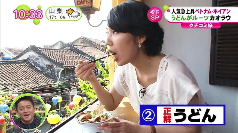 【疑似フェラキャプ画像】タレント達が食レポしてる時の顔がエロすぎて思わずチ〇コいじりたくなるw 08