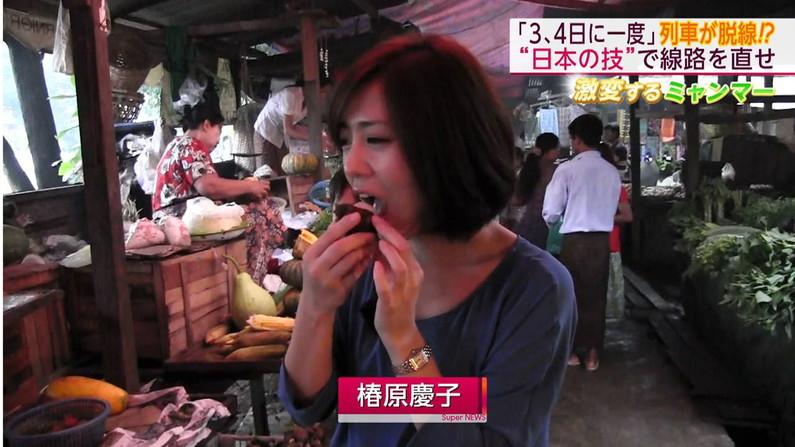 【疑似フェラキャプ画像】タレント達が食レポしてる時の顔がエロすぎて思わずチ〇コいじりたくなるw 15
