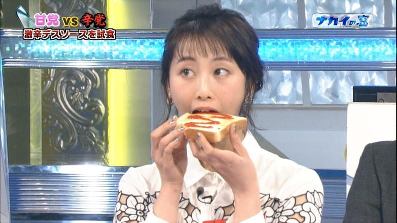 【疑似フェラキャプ画像】タレント達が食レポしてる時の顔がエロすぎて思わずチ〇コいじりたくなるw 24