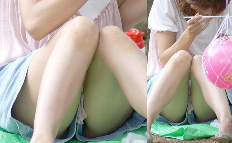 【ハミマンハプニング画像】マジかよ!こいつらビラビラ見えてるやんwww 18