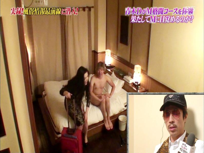 【お宝エロ画像】テレビでプロレス風俗とか言う風俗店の潜入取材やってたんだけどこれやばいなw 01