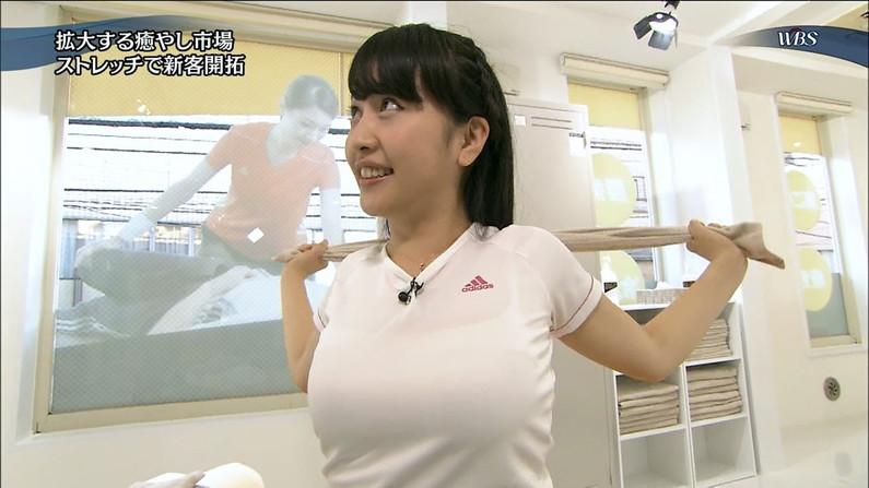 【着衣巨乳キャプ画像】巨乳タレントって服着ててもオッパイの存在感って半端ないよなw 20