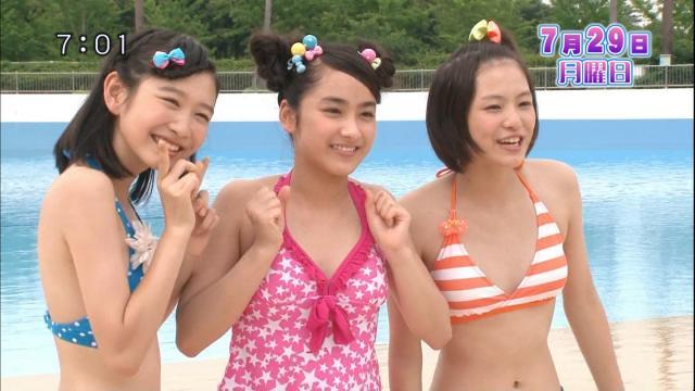 【水着キャプ画像】水着モデルとして出てくる女の子もいい体してるよなw 03