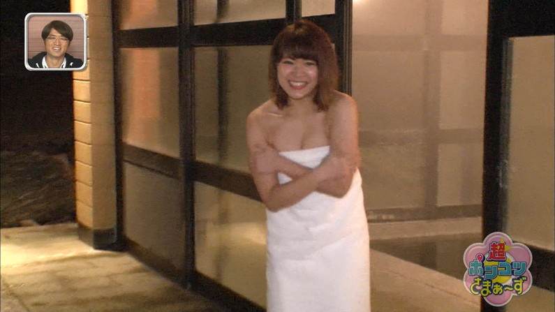 【温泉キャプ画像】ポロリチラリが一番期待度高まる温泉レポw